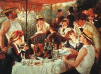 Renoir, Pierre Auguste - The Boating Party Lunch
