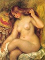 Renoir, Pierre Auguste - Bather with Blonde Hair