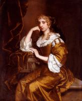 Sir Peter Lely - Portrait Of Mrs Charles Bertie