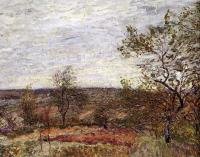 Sisley, Alfred - Windy Day At Veneux