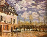 Sisley, Alfred - Boat During a Flood