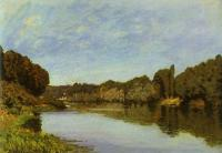 Sisley, Alfred - The Seine at Bougival