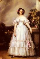 Winterhalter, Franz Xavier - A Full-Length Portrait of H.R.H Princess Marie