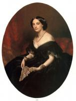Winterhalter, Franz Xavier - Portrait of a Lady