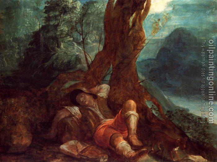 Adam Elsheimer - Jacobs Dream