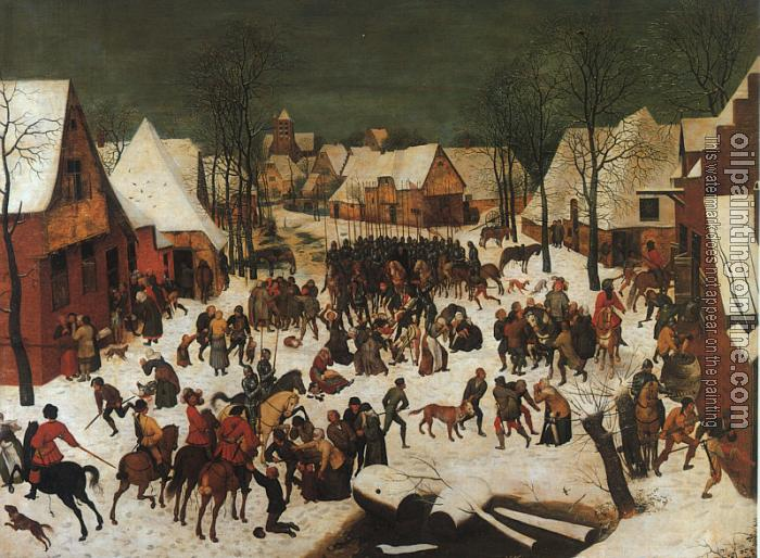pieter bruegel the elder a hunters Which features art of pieter bruegel the elder and his sons, pieter  snow ( winter),'' a stunningly composed painting that shows hunters and.