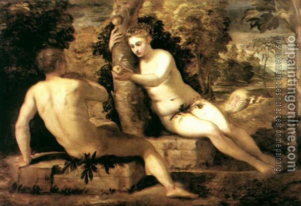 Tintoretto Adam And Eve Tintoretto Adam And Eve