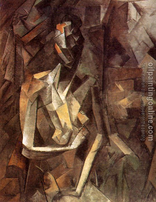 Picasso Seated Nude