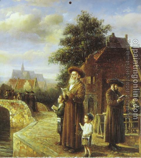 Oil Painting Reproduction - Jewish art - Canvas Painting ...